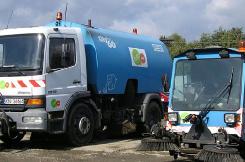 Maszyny do oczyszczania miasta