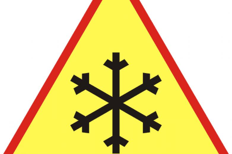 Uwaga opady śniegu