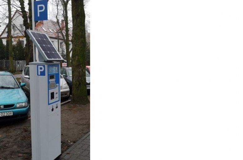 Przykład parkomatu, który stanie w Częstochowie